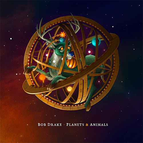 Drake, Bob: Planets & Animals (Recommended Records)