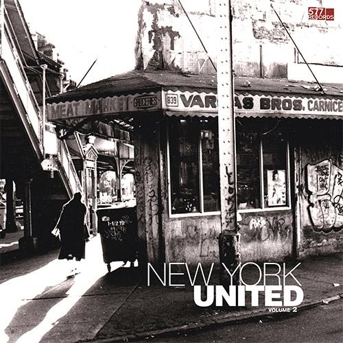 Carter, Daniel / Tobias Wilner / Djibril Toure / Federico Ughi: New York United Volume 2 [VINYL] (577 Records)