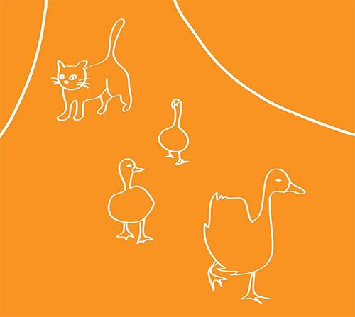 Dulin, Tucker / Ben Owen: Cat Guarding Geese (erstwhile)