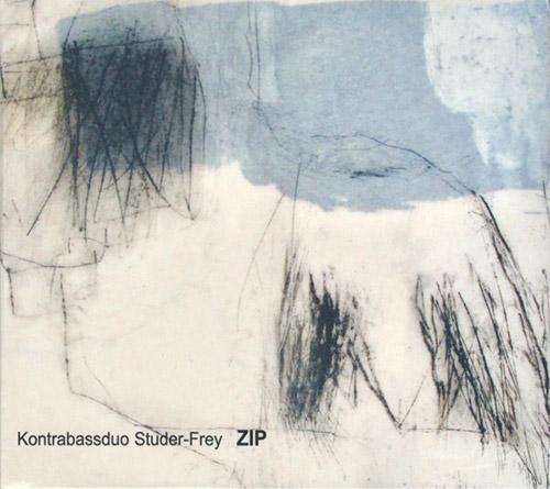 Kontrabassduo Studer-Frey: Zip (Leo Records)