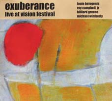 Exuberance: Live at Vision Festival (Ayler Records)