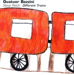 Quatuor Bozzini: Steve Reich: Different Trains