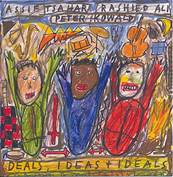 Tsahar, Assif / Rashied Ali / Peter Kowald: Deals, Ideas and Ideals