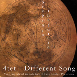 4tet (Jing / Wintsch / Oester / Pfammatter): Different Song - Step Into The Future (Leo Records)