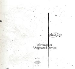 Davies, Angharad and Cremaster (Monteiro / Fages): Pluie Fine (Potlatch)