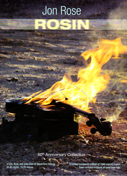 Rose, Jon: Rosin [3 CDs + 1 Data Disk + Book] (Recommended Records)