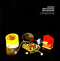 Rose / Kneer / Barrett: Colophony
