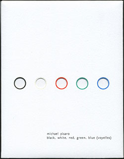 Pisaro / Chabala: Black, White, Red, Green, Blue (Voyelles) [2 CDs COLOR EDITION]