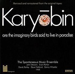 Spontaneous Music Ensemble: Karyobin (1968) [2017 REISSUE]