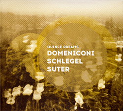Domeniconi / Schlegel / Suter  : Quince Dreams (Creative Sources)