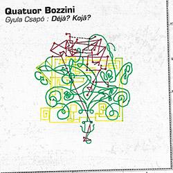 Quatuor Bozzini / Gyula Csapo: Deja? Koja?