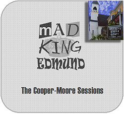 Cooper-Moore, The Sessions: Mad King Edmund [3 CD TIN IN A CLOTH BAG + 7'' VINYL]