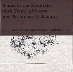 Sound of the Mountain w/ Tetuzi Akiyama / Toshimaru Nakamura: amplified clarinet and trumpet, guitars, nimb (Mystery & Wonder)