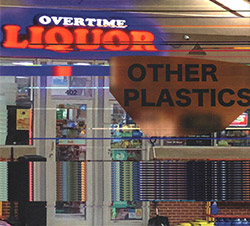 Other Plastics (Dominic Coles / Hunter Brown): Overtime Liquor (Creative Sources)