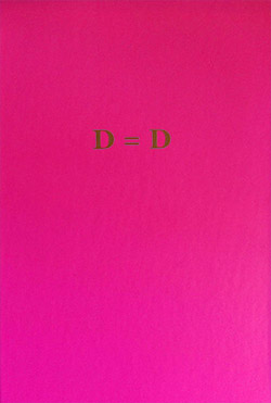 Brown, Don / Dan Reynolds: D=D [HARDCOVER BOOK w/ CD]