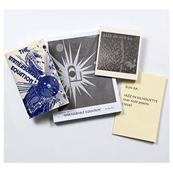 Sun Ra: Extensions Out, Plus: Four Poetry Books (1959/1972) [4 BOOKS] (Corbett vs. Dempsey)
