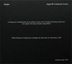 Regler: Regel #5 (Classical Music)