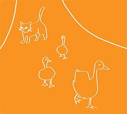 Dulin, Tucker / Ben Owen: Cat Guarding Geese