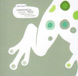 Davis / Laubrock / Sorey: Paradoxical Frog (Clean Feed)