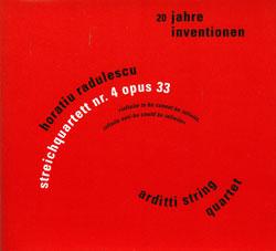 Radulescu, Horatiu : 20 Jahre Inventionen