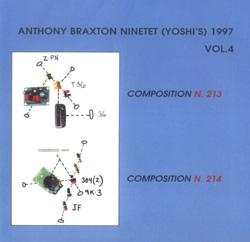 Braxton Ninetet, Anthony: Yoshi's 1997 Vol. 4