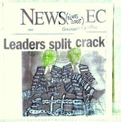 Chadbourne, Eugene: Leaders Split Crack (Blues 2004)