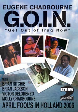 "Chadbourne, Dr. Eugene / DeLorenzo,  Victor / Jackson, Brian / Ritchie, Brian: G.O.I.N. ""Get Out of"